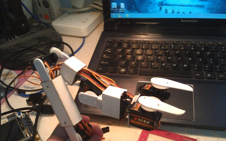 Homemade Robot Arm
